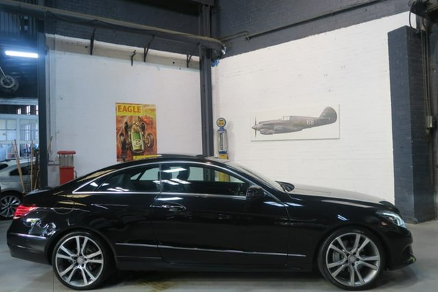Used Mercedes-Benz E250 C207 MY13 7G-Tronic +, 2013 Mercedes-Benz E250 C207 MY13 7G-Tronic + Black 7 Speed Sports Automatic Coupe