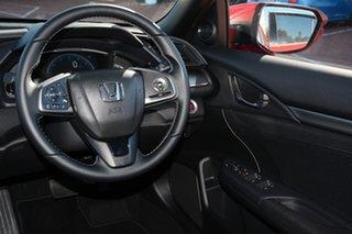2018 Honda Civic 10th Gen MY18 VTi-L Rallye Red 1 Speed Constant Variable Hatchback