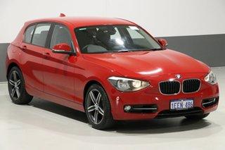 2013 BMW 118i F20 MY13 Sport Line Red 8 Speed Automatic Hatchback
