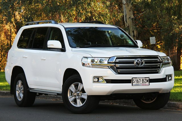 Demo Toyota Landcruiser VDJ200R GXL, 2018 Toyota Landcruiser VDJ200R GXL White 6 Speed Sports Automatic Wagon