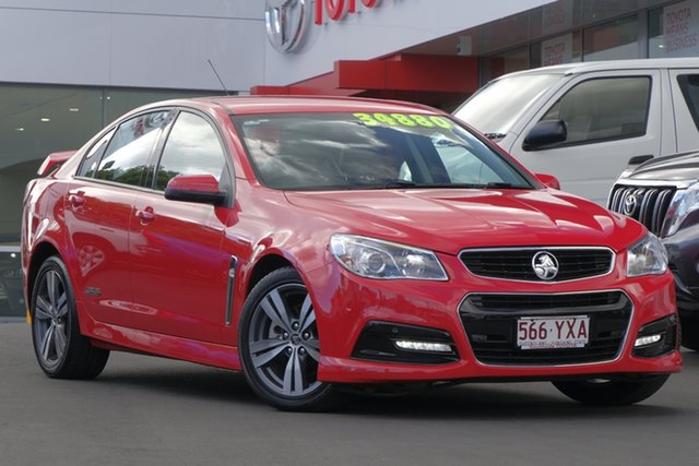Used Holden Commodore VF MY15 SS, 2014 Holden Commodore VF MY15 SS Red/Black 6 Speed Sports Automatic Sedan