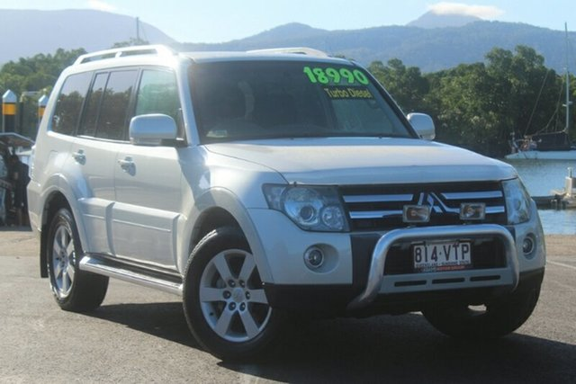 Used Mitsubishi Pajero NS VR-X, 2008 Mitsubishi Pajero NS VR-X White 5 Speed Sports Automatic Wagon