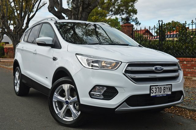 Used Ford Escape ZG 2018.75MY Trend PwrShift AWD, 2018 Ford Escape ZG 2018.75MY Trend PwrShift AWD Frozen White 6 Speed Sports Automatic Dual Clutch