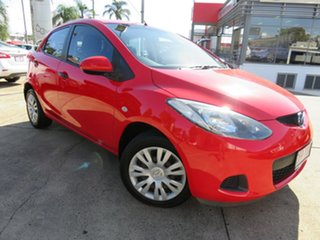 2009 Mazda 2 DE Neo Red 5 Speed Manual Hatchback.