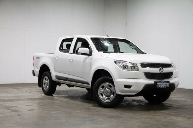 Used Holden Colorado RG MY16 LS-X Crew Cab, 2015 Holden Colorado RG MY16 LS-X Crew Cab White 6 Speed Sports Automatic Utility