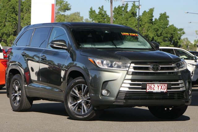 Used Toyota Kluger GSU50R GX 2WD, 2017 Toyota Kluger GSU50R GX 2WD Rainforest Green 8 Speed Sports Automatic Wagon