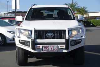2014 Toyota Landcruiser Prado KDJ150R MY14 GXL Glacier 5 Speed Sports Automatic Wagon.