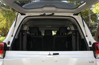 2017 Toyota Landcruiser VDJ200R VX White 6 Speed Sports Automatic Wagon