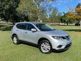 2016 Nissan X-Trail T32 ST (FWD) Sleek Silver Continuous Variable Wagon.