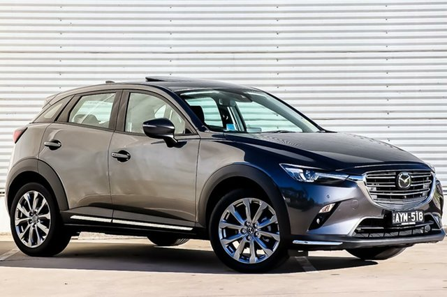 Demo Mazda CX-3 DK2W7A Akari SKYACTIV-Drive FWD LE, 2019 Mazda CX-3 DK2W7A Akari SKYACTIV-Drive FWD LE Machine Grey 6 Speed Sports Automatic Wagon