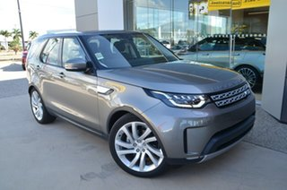 2018 Land Rover Discovery Series 5 HSE Silicon Silver 8 Speed Automatic SUV.