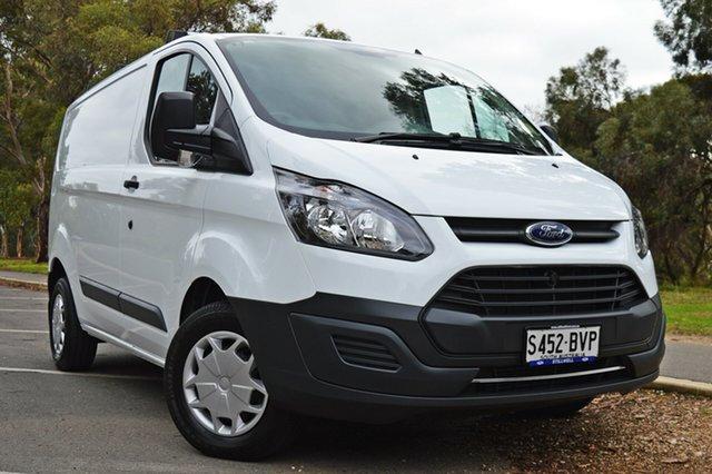 Used Ford Transit Custom VN 290S Low Roof SWB, 2017 Ford Transit Custom VN 290S Low Roof SWB Frozen White/grey Tr 6 Speed Manual Van