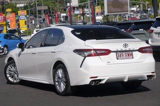 2018 Toyota Camry ASV70R SL White 6 Speed Sports Automatic Sedan.