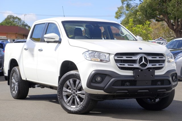 Used Mercedes-Benz X-Class 470 X250d 4MATIC Progressive, 2018 Mercedes-Benz X-Class 470 X250d 4MATIC Progressive White 7 Speed Sports Automatic Utility