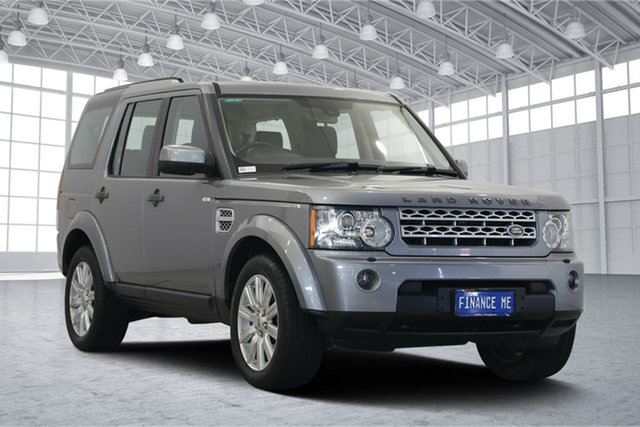 Used Land Rover Discovery 4 Series 4 L319 MY13 SDV6 SE, 2013 Land Rover Discovery 4 Series 4 L319 MY13 SDV6 SE Grey 8 Speed Sports Automatic Wagon