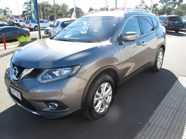 Used Nissan X-Trail T32 ST-L, 2016 Nissan X-Trail T32 ST-L Grey Continuous Variable Wagon