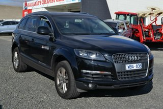 2007 Audi Q7 3.6 FSI Quattro Black 6 Speed Tiptronic Wagon