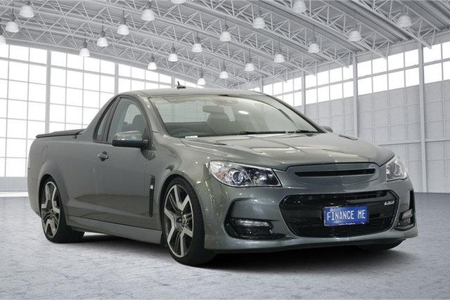 Used Holden Ute VF II MY16 SS V Ute Redline, 2016 Holden Ute VF II MY16 SS V Ute Redline Grey 6 Speed Manual Utility