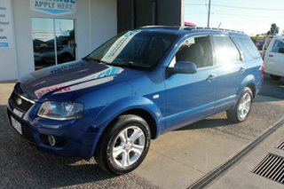 2010 Ford Territory SY MkII TX (RWD) Blue 4 Speed Auto Seq Sportshift Wagon.