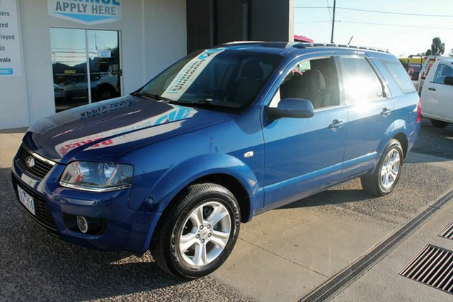 Used Ford Territory SY MkII TX (RWD), 2010 Ford Territory SY MkII TX (RWD) Blue 4 Speed Auto Seq Sportshift Wagon