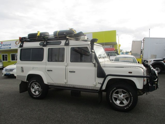 Used Land Rover Defender 110 02MY X-Treme, 2002 Land Rover Defender 110 02MY X-Treme White 5 Speed Manual Wagon