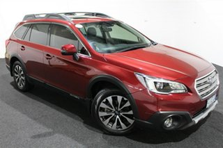 2016 Subaru Outback B6A MY16 2.5i CVT AWD Premium Red 6 Speed Constant Variable Wagon.