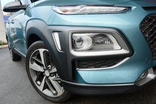 2019 Hyundai Kona OS.2 MY19 Highlander 2WD Blue Lagoon & Black Roof 6 Speed Sports Automatic Wagon.