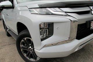 2019 Mitsubishi Triton MR MY19 GLS (4x4) White Diamond 6 Speed Manual Double Cab Pickup.
