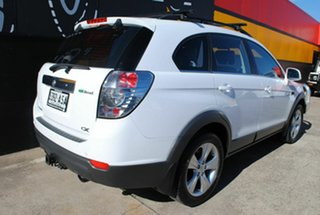 2012 Holden Captiva CG Series II 7 AWD CX Olympic White 6 Speed Sports Automatic Wagon.