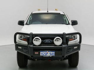 2015 Ford Ranger PX MkII XL 2.2 (4x4) White 6 Speed Automatic Crew Cab Utility.