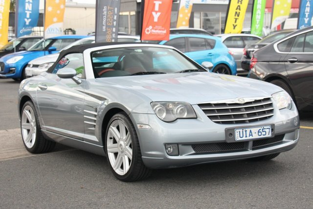 Used Chrysler Crossfire ZH MY2005 , 2005 Chrysler Crossfire ZH MY2005 Silver 5 Speed Sports Automatic Roadster