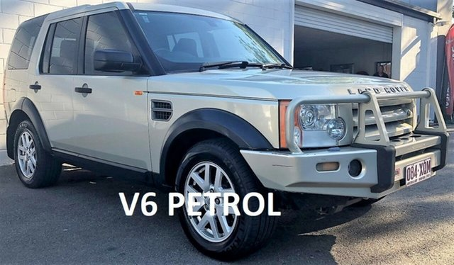 Used Land Rover Discovery 3 Series 3 08MY SE, 2007 Land Rover Discovery 3 Series 3 08MY SE Metallic Silver 6 Speed Sports Automatic Wagon