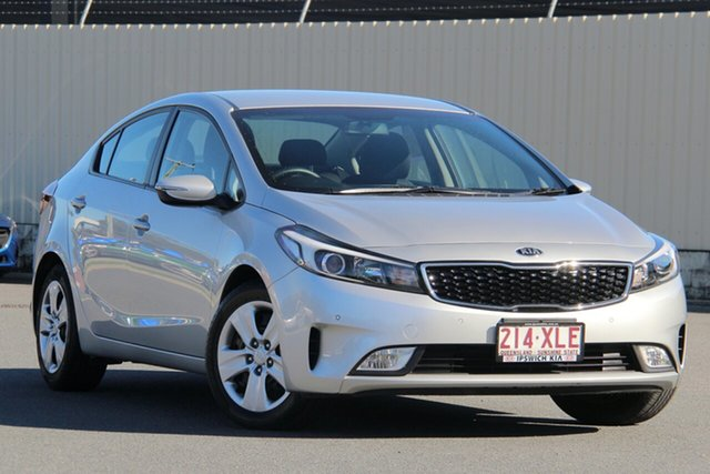 Used Kia Cerato YD MY15 S, 2016 Kia Cerato YD MY15 S Silver 6 Speed Sports Automatic Sedan