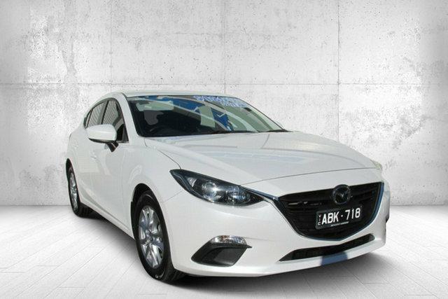 Used Mazda 3 BM5478 Maxx SKYACTIV-Drive, 2014 Mazda 3 BM5478 Maxx SKYACTIV-Drive White 6 Speed Sports Automatic Hatchback