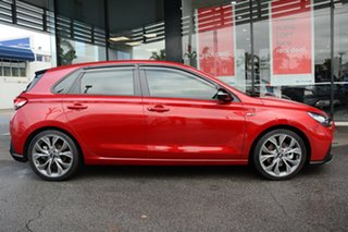 2019 Hyundai i30 PD.3 MY20 N Line D-CT Premium Firey Red 7 Speed Sports Automatic Dual Clutch