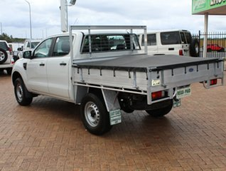 2013 Ford Ranger PX XL Double Cab 4x2 Hi-Rider White 6 Speed Sports Automatic Cab Chassis