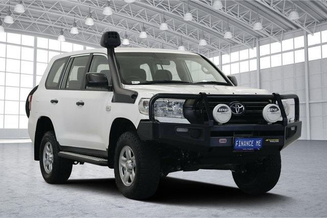 Used Toyota Landcruiser VDJ200R GX, 2015 Toyota Landcruiser VDJ200R GX White 6 Speed Sports Automatic Wagon