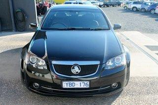 2011 Holden Calais VE II V Black 6 Speed Automatic Sedan.