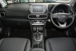 2019 Hyundai Kona OS.2 MY19 Highlander 2WD Blue Lagoon & Black Roof 6 Speed Sports Automatic Wagon