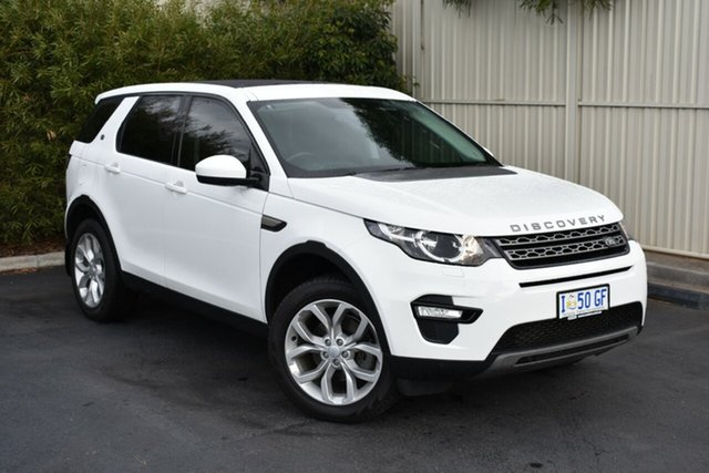 Used Land Rover Discovery Sport L550 16.5MY Td4 HSE, 2016 Land Rover Discovery Sport L550 16.5MY Td4 HSE White 9 Speed Sports Automatic Wagon