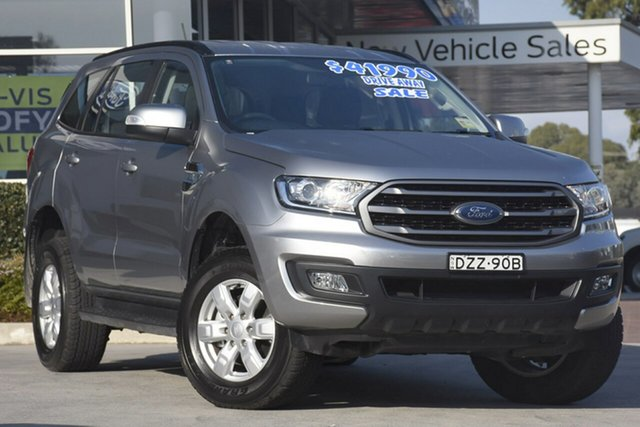Demo Ford Everest UA II 2019.00MY Ambiente RWD, 2018 Ford Everest UA II 2019.00MY Ambiente RWD Aluminium 6 Speed Sports Automatic SUV