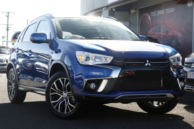 New Mitsubishi ASX XC MY19 LS (2WD), 2019 Mitsubishi ASX XC MY19 LS (2WD) Lightning Blue Continuous Variable Wagon