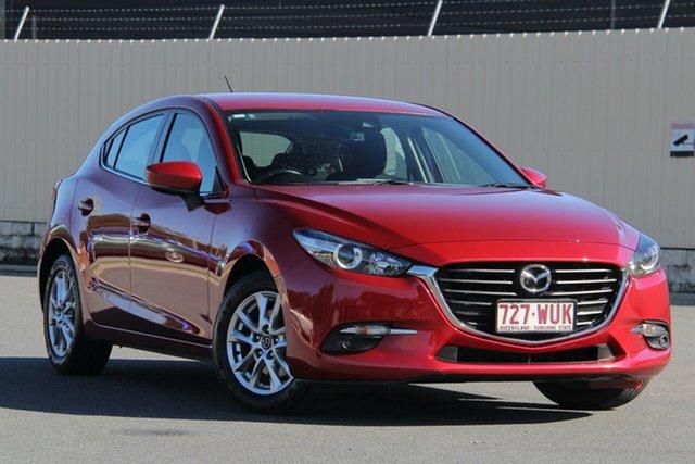 Used Mazda 3 BM5478 Maxx SKYACTIV-Drive, 2016 Mazda 3 BM5478 Maxx SKYACTIV-Drive Soul Red 6 Speed Sports Automatic Hatchback