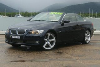 2009 BMW 335i E93 MY09.5 D-CT Blue 7 Speed Sports Automatic Dual Clutch Convertible