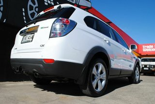 2012 Holden Captiva CG Series II 7 AWD CX Olympic White 6 Speed Sports Automatic Wagon