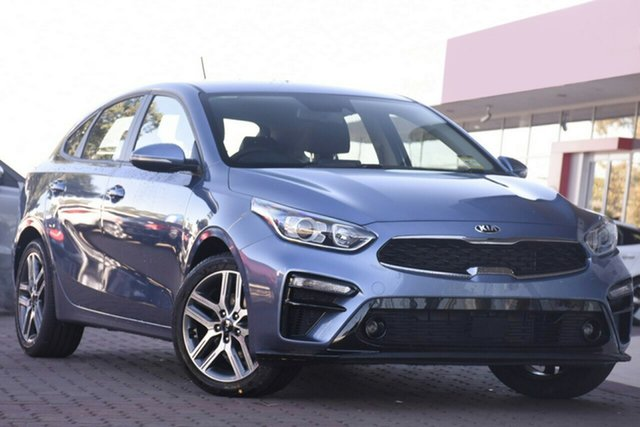 New Kia Cerato BD MY19 Sport+, 2019 Kia Cerato BD MY19 Sport+ Gravity Blue 6 Speed Sports Automatic Hatchback