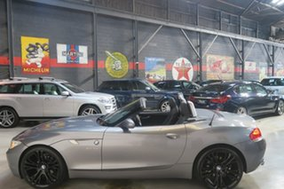 2010 BMW Z4 E89 MY0310 sDrive23i Steptronic Grey 6 Speed Sports Automatic Roadster