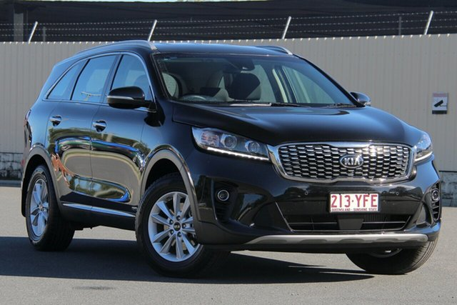 Used Kia Sorento UM MY19 Si AWD, 2018 Kia Sorento UM MY19 Si AWD Aurora Black 8 Speed Sports Automatic Wagon