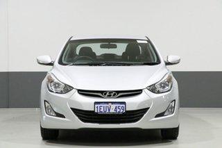 2015 Hyundai Elantra MD Series 2 (MD3) Active Silver 6 Speed Automatic Sedan.