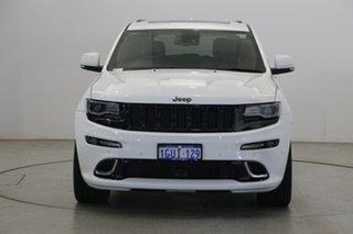 2016 Jeep Grand Cherokee WK MY15 SRT Bright White 8 Speed Sports Automatic Wagon.